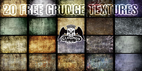 http://gloomus.com/download-free-grunge-textures/